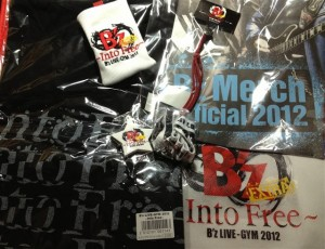 B'z LIVE-GYM 2012 -Into Free- EXTRA 日本武道館 開演前