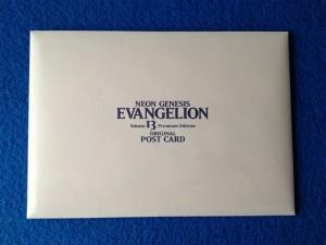 新世紀エヴァンゲリオン 13巻 プレミアム限定版、描き下ろしポストカード