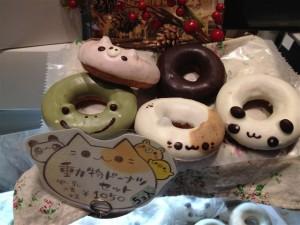 動物ドーナツや親子ドーナツ