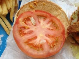 ホットゴールドマサラのトマト