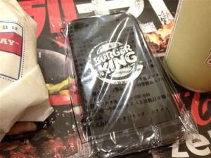 バーガーキングのiPhoneケース