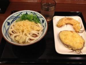 丸亀製麺 キュービックプラザ新横浜店のぶっかけうどん