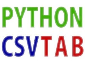 python_tab_csv
