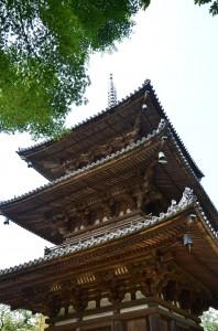 旧燈明寺三重塔(きゅうとうみょうじ さんじゅうのとう)