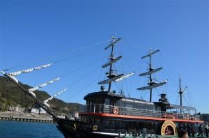 遊覧船・サスケハナ号(SUSQUEHANNA)の外観。18-105mm f/3.5-5.6G プログラム(F8・1/250秒)・ISO-100